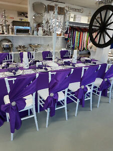 Wedding Decor Rentals, Chair Covers, Backdrops, Arches Etc. Prince George British Columbia image 8