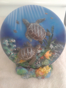 collectable turtle plate