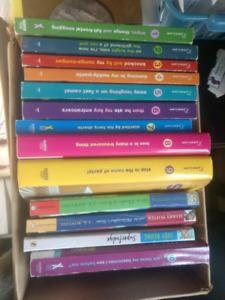 Whole series of  Georgia Nicolson - author Louise Rennison