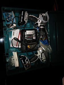 makita impact drill and drill set for sale