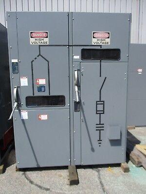 Square D 5KV 600 Amp 2 Door Power Zone Selector Switch