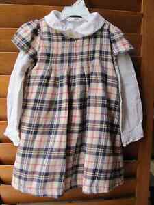 2X2 pieces dresse set for 3 years old princess