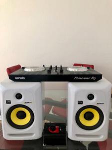 Speaker KRK Rokit 5 G3 + Pioneer DDJ-SB2 Mixer + Nano Patch