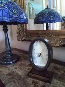 Antique wood clock horloge en bois