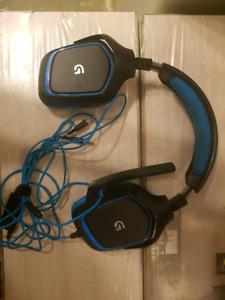 Logitech g430 surround headphones