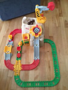 Little Tikes Big Adventures Construction Peak Rail and Road Play