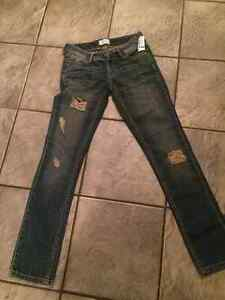 Brand new girls Aeropostale jeans size 00R Cambridge Kitchener Area image 1