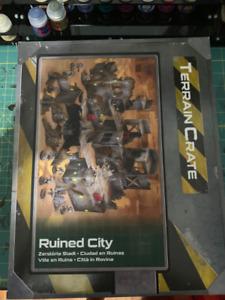 Terrain Crate: Ruined City (BRAND NEW, NEVER OPENED)