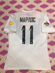 Match-Worn-T-shirt-FC-Shahktar-Jersey-MARLOS-Champions-NIKE-Original