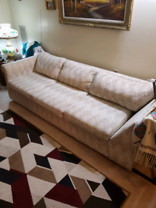 Comfy couch. Cleaned. O.B.O.