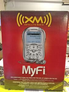 Radio Satellite Portable XM Delphi Myfi Xm2go neuf dans la boite