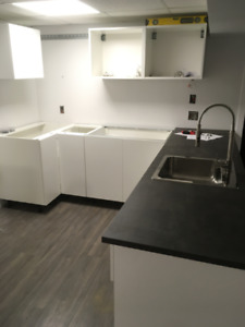 New 1 Bedroom Basement Apartment with brand new Kitchen