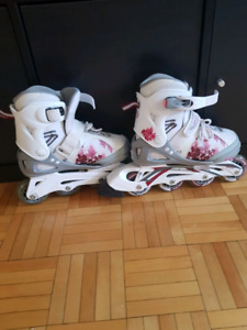 Adjustable Roller skates for girl/ patins a roues pour fille