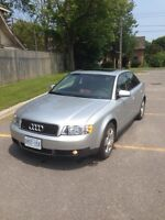 2003 Audi A4 Quattro 1.8t. Only 152,000kms