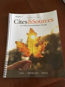 Cites & Sources for Child & Youth Care