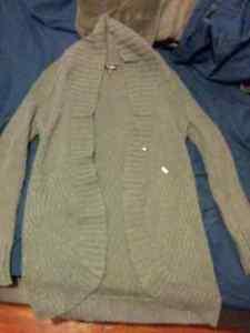 Grey Guess Cardigan $15