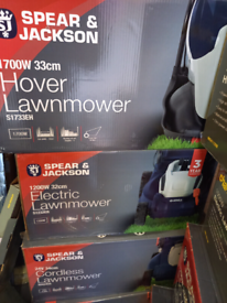 Lawnmowers £30. £40. £50. £65. RBW Clearance Outlet Leicester City Cen