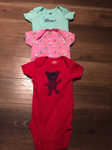 Set of three 12 months onesies - brand new without tags!