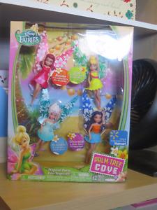 NEW Disney Fairies set of 4