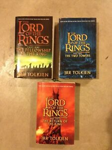 THE LORD OF THE RINGS trilogy...