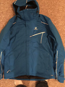 For Sale Never Worn New Salomon Winter Jacket-XL