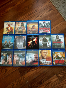 Blu ray movies for sale $2 each
