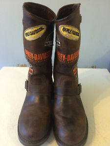 Genuine Harley Davidson Woman's riding boots(7)