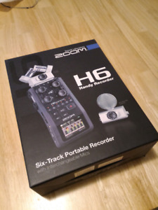 Zoom H6 (On hold until July 18, Out of Country)