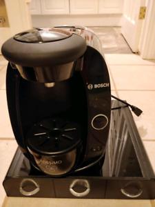 Tassimo Coffee Maker + Storage