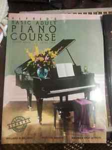 BEGINNERS PIANO BOOKS FOR SALE. MINT CONDITION