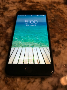 iPhone 6 - 16 GB - Black front, Grey back