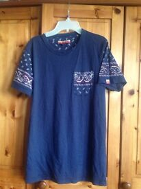 Navy Worland T Shirt