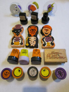 HALLOWEEN AUTUMN STAMPS! Great for a kids craft Center!