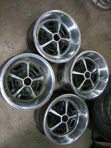 Magnum 500 wheels and 225x70x14 michelin tires