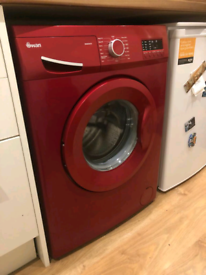Red swan 7kg load 1400 spin digital display washing machine