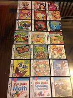 Nintendo DS and 3DS Games all in  Cases $10 ea and 2 Wappy Dogs