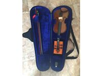 Half-Size Violin with Case + Bow