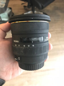 Sigma 10-20mm f/4-5.6 DC EX [Canon Mount EF-S Lens]