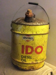 Irving Oil Can