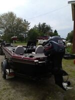 Champion Bass Boat 150HP
