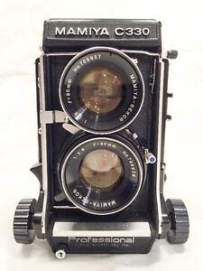 Mamiya C330 twin lens reflex w. 80mm f2.8 - ex cond.