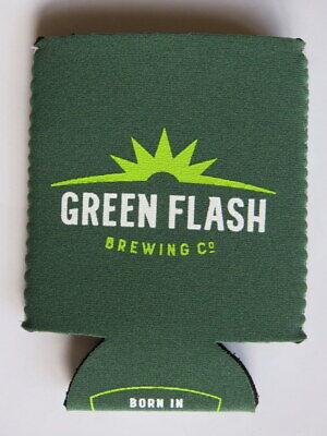 Cheap Beer Koozies (Beer Bottle Can Holder Koozie ~ GREEN FLASH Brewing Co ~ San Diego,)