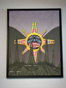 Heiltsuk Sun Birth Of The Totem by Fred Anderson Jr.