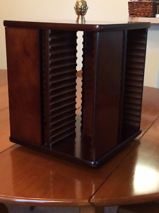Beautiful Solid Wood CD stand -  Mint Condition