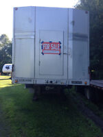 2007 53' Step Deck Trailer with a Roll-Tie