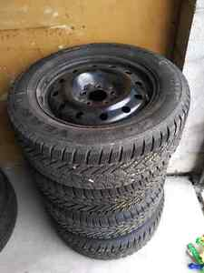 NISSAN ALTIMA TOYOTA CAMRY WINTER TIRES & RIMS 215/60R/16