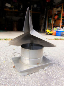 Famco Wind Directional Chimney Cap - Stainless Steel