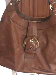 Leather Brown Coach Purse and Wallet Kingston Kingston Area image 7