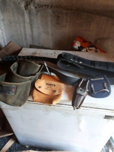 Work belts 25 bucks with all seen in picture