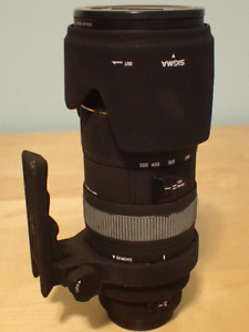 Sigma 50-500mm for 4/3 mount